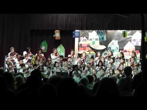 Audubon Elementary School Winter Concert Orchestra Performance