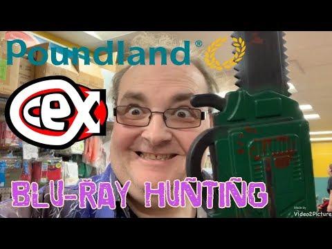 Poundland & CEX Blu-ray Hunting