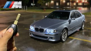 You Night Drive The BMW E39 M5! *STRAIGHT PIPED POV*