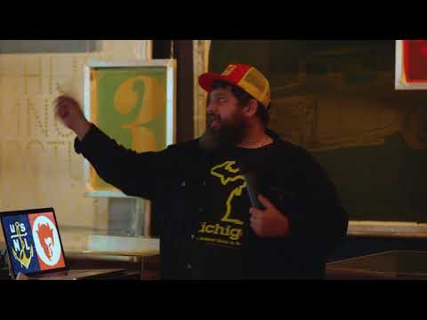 Projects, Process, and Products: Behind the Scenes with Aaron Draplin - Maker Faire Detroit 2017