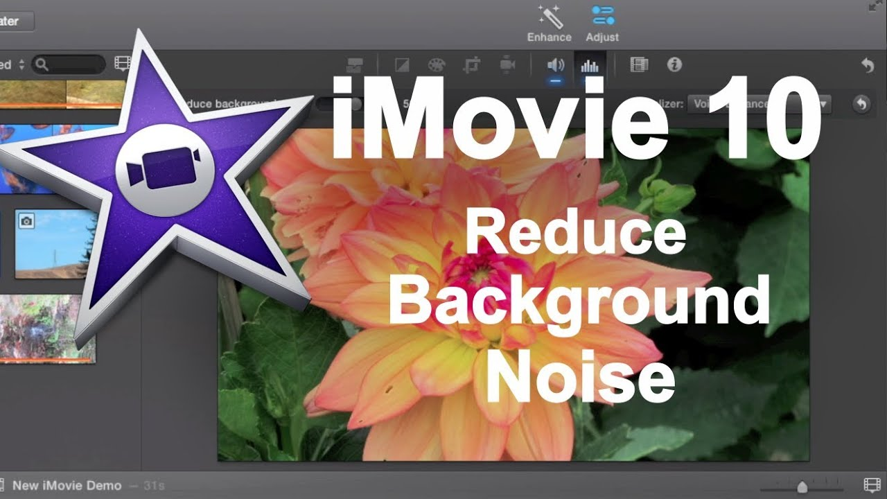 how to make audio louder imovie