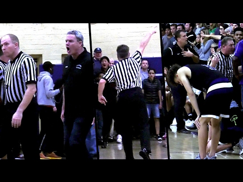"Playoff Game Ends in CHAOS! Coach EJECTED & ""Chris Webber"" Moment Foothills Christian v St Augustine"