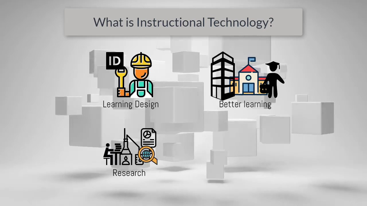 What Is Instructional Design And Educational Technology Youtube