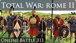 Total War Rome 2 Online Battle Video 311