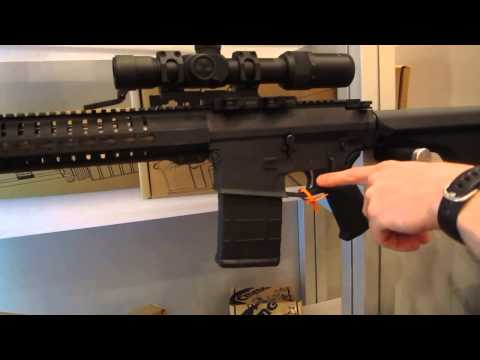 Mk3 308 3GR Tactical Rifle by CMMG at SHOT Show 2014