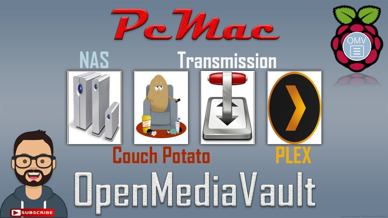 Couch Potato with NAS, Transmission and Plex Media Server: Installation  Configuration and Working