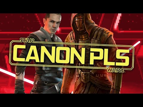 Star Wars Legends Video Game Characters Who Should Be Canon | Expanded Universe Characters in Canon