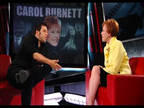 Carol Burnett Talks To George Stroumboulopoulos