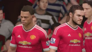 FIFA 16 (Xbox One) Southampton vs Manchester United Gameplay