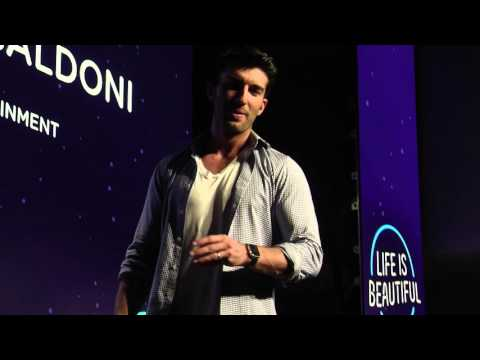 Justin Baldoni on Shaping the Future of Content - Life is Beautiful Festival 2015