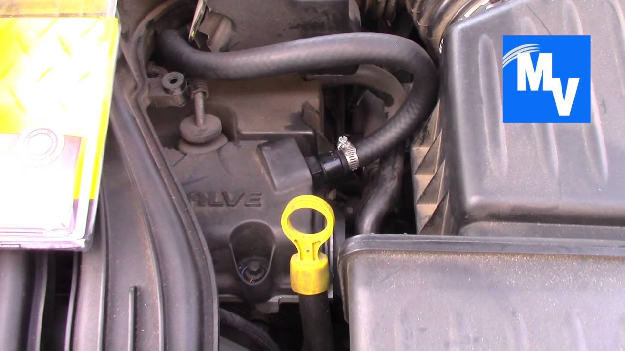 2002 PT Cruiser PCV Hose with Part Numbers Replacement  YouTube