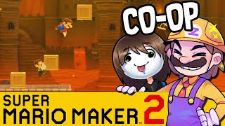 Ultimate Boxman Jumper! | SUPER MARIO MAKER 2 Coop
