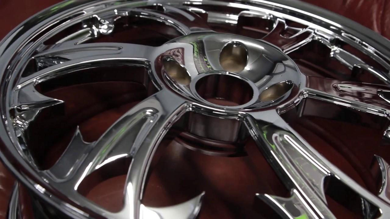 Custom Motorcycle Wheels Rims Parts | SMT Machining | Made