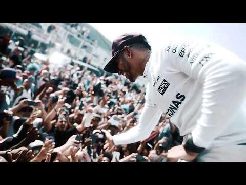 Lewis celebrates a Canadian Grand Prix Grand Slam!