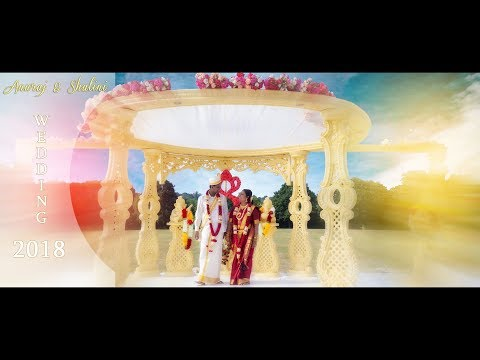 Anuraj&Shalini Outdoor Wedding highlight I Blueink Productio