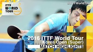 2016 Korea Open Highlights: Xu Xin vs Wong Chun Ting (1/4)(Review all the highlights from the Xu Xin vs Wong Chun Ting (1/4) match from the 2016 Korea Open Subscribe here for more official Table Tennis highlights: ..., 2016-06-25T18:09:31.000Z)