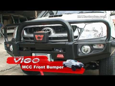 VIGO 4x4 Front bumper MCC&Winches