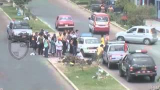 Serenazgo Víctor Larco cámaras de video vigilancia captaron accidente de tránsito
