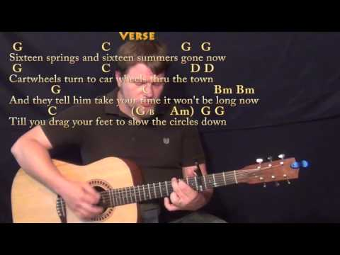 The Circle Game (Joni Mitchell) Strum Guitar Cover Lesson with Chords/Lyrics