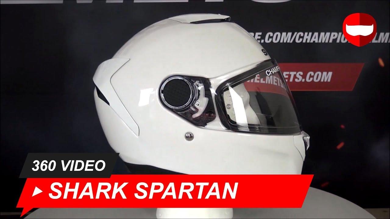 Shark Casco de Moto Spartan 1.2 Blank WHU