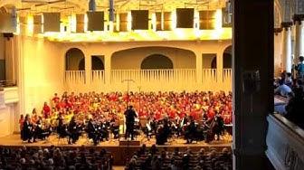 Tonhalle St  Gallen sing mit uns  Hambani Kahle