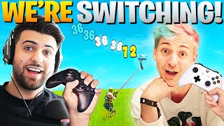 Why Ninja And I Are SWITCHING To Controller! (Fortnite Battle Royale)