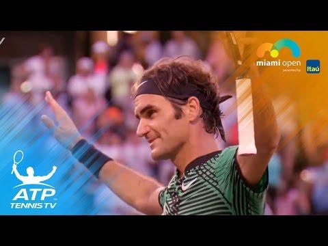 Federer, Nadal, Zverev reach quarters | Miami Open 2017 Highlights Day 7