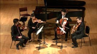 Avalon String Quartet - Bartók - String Quartet No. 6 - II - Mesto-Marcia