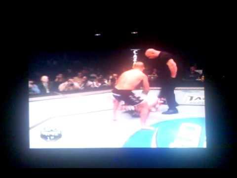 BJ Penn vs Matt Hughs 3 (full fight) KO!