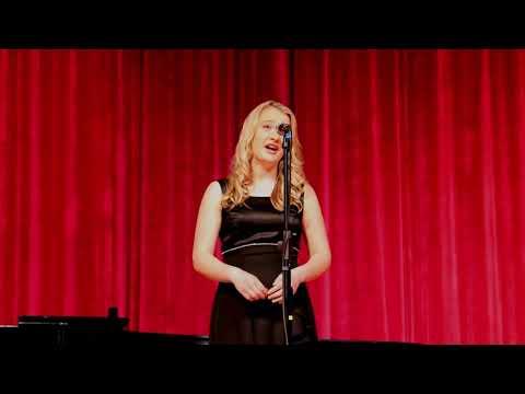 "Taylor singing Mozart's ""Ridente la calma""- 2018 Spring BASH Choral Concert"
