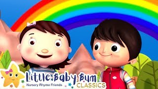 RAINBOW Colors Song +More Nursery Rhymes and Kids Songs - ABCs and 123s | Learn with Little Baby Bum
