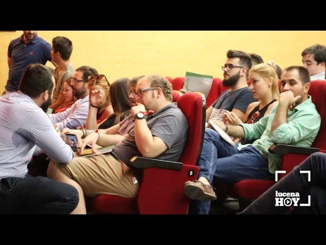 VÍDEO: Los representantes de las Juventudes Socialistas de Andalucía debaten en Lucena