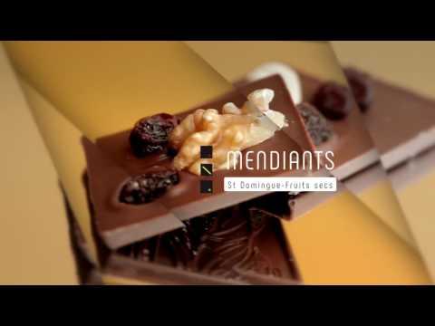 B Chocolat   MENDIANTS   ST Domingue   Fruits secs