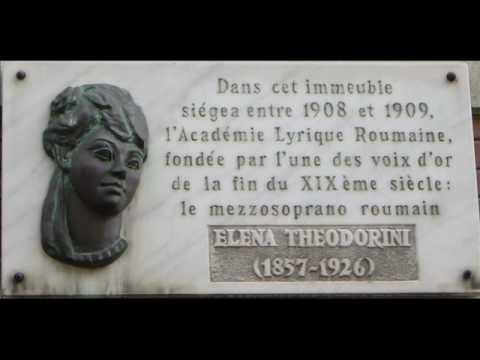 "Elena Teodorini :Georges Bizet ""Carmen, opera (Habanera)"" record 1903"