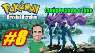Jornada de Pokemon Crystal - Parte 8 - Completando o time