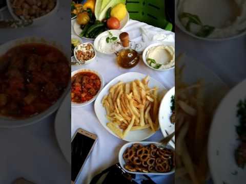 Lebanon Beirut cedars day trip begin #6 ~ restaurant -26/03/2017