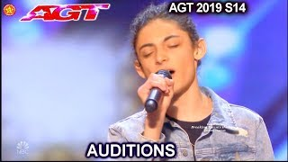 "Benicio Bryant Singer sings ""The Joke"" AWESOME 