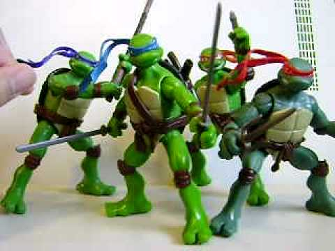 Tmnt Movie Figures Review Youtube