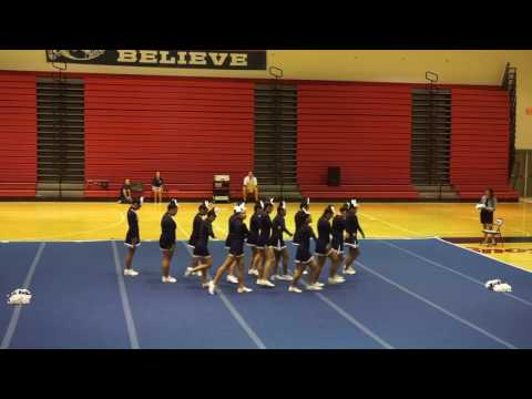 Kamehameha Schools-Hawaii Cheer 1st Competition 2016-2017