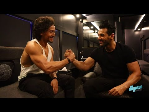 Hundred Frames Garnier Men  2017 - John Abraham & Tiger Shroff.