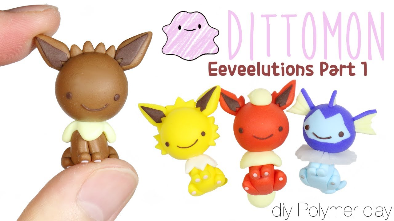 how to make espeon out of clay