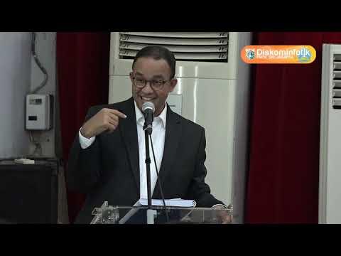 07 Apr 2018 Gub Anies R. Baswedan membuka seminar keperawatan jiwa