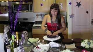 """How To """"make Your Own Disco Ball Cake"""" Cakes By Rujira"""