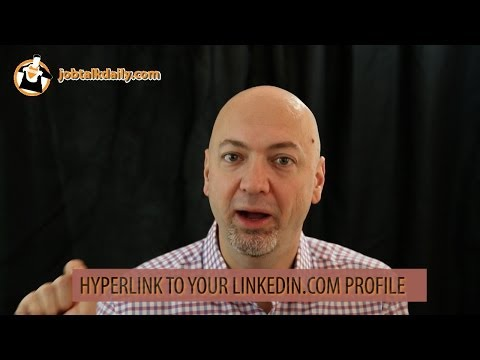 Update your resume with hyperlinks--and get hired faster!
