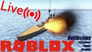 Roblox Live Stream - Naval 1918 - New Best Game?