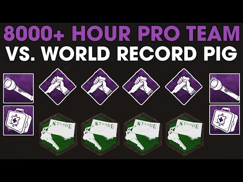 8,000 Hour Pro Team Vs. World Record Pig Main   Dead By Daylight