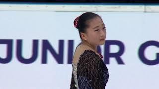 Su Been Jeon Корея | ISU Гран При (юниоры) 2018 Каунас | Произвольная программа (девушки)