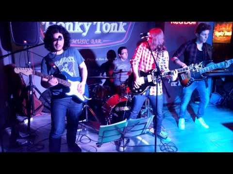 Evolución - Sin Frontera (Live @ Honky Tonk, Playa San Juan, Alicante, 17/01/2015)