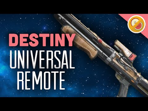 DESTINY Universal Remote Fully Upgraded PvP OP (PS4 Gameplay Commentary) Funny Gaming Moments