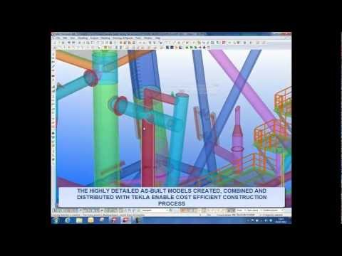 Tekla -- Advanced 3D software for offshore construction